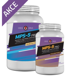 MPS-5 PRO 2,25kg Vanilla + 1 kg ZDARMA