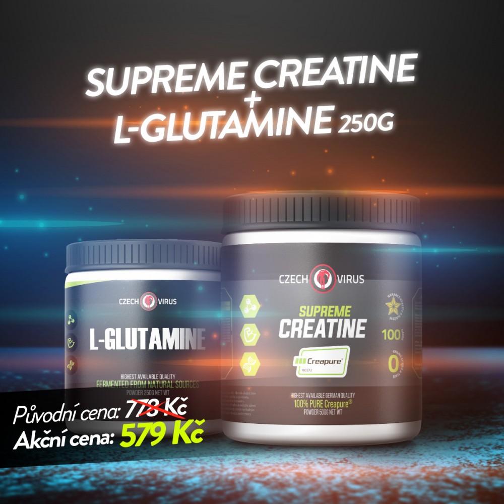 Supreme Creatine + L-Glutamine 250g