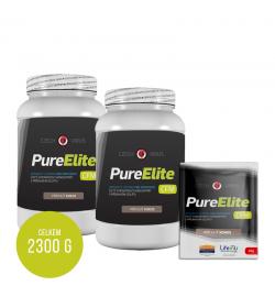 Pure Elite kokos 2x 1Kg + 10 sáčků