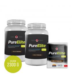 Pure Elite čokoláda 2x 1Kg + 10 sáčků