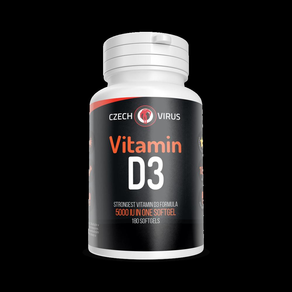 Vitamin D3 | Czech Virus