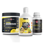 Magnezium, Omega, Supervita combo pack pro Ebook kampaň