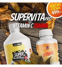 SuperVita PRO 2.0 + Vitamín C 1000 mg ZDARMA