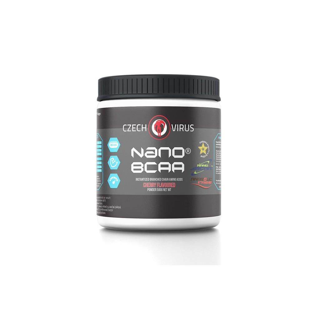 Nano Bcaa regenerace svalů | Czech Virus