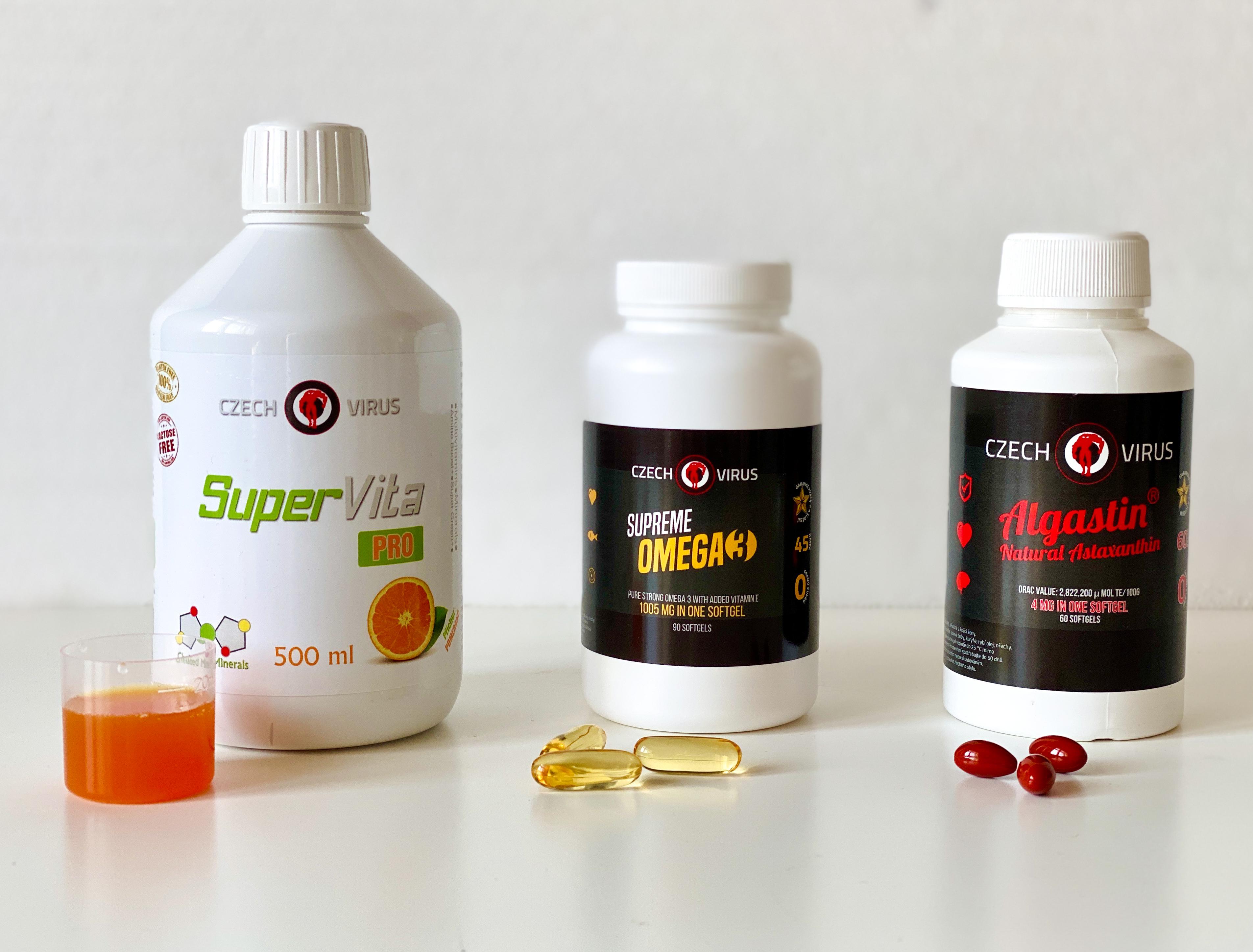 Super Vita, Omega 3, Algastin
